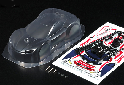 Mini 4WD 35th Anniversary Raikiri Clear Body Set (Mini 4WD Limited)