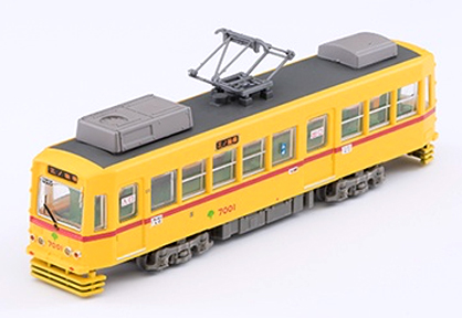 Train Collection: Tokyo Metropolitan Bureau of Transportation 7000 Revival Color