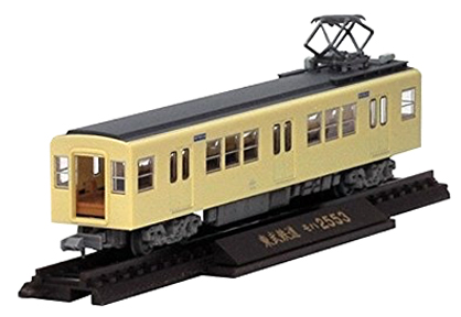 Train Collection: Tobu Railway 2000 Series Additional 4-Car Set