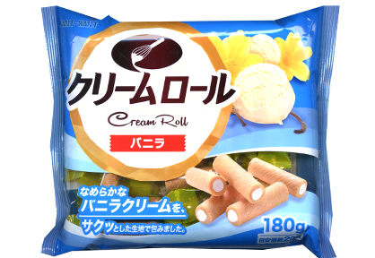 Cream Roll Vanilla 180g
