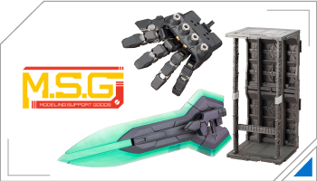 MSG Modeling support Goods