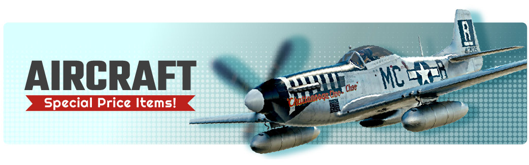 Special Price Aircraft Items