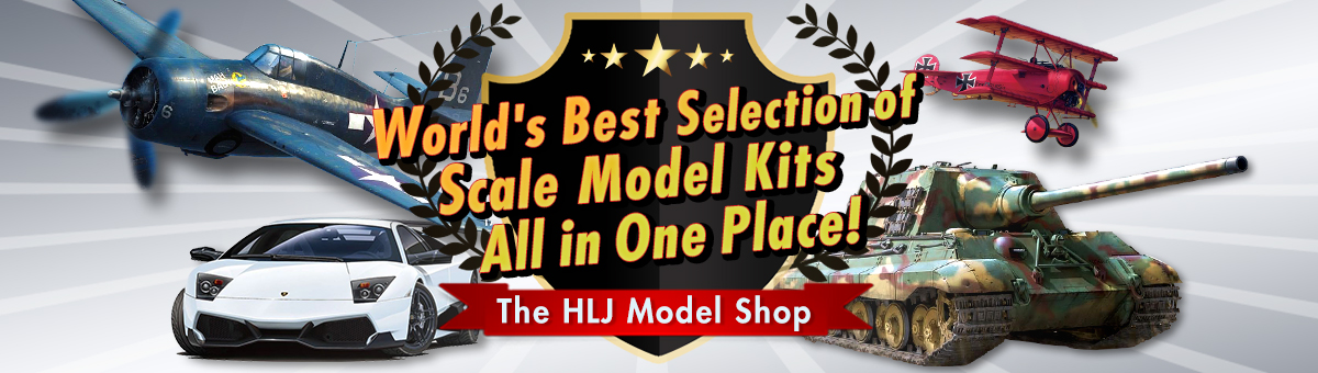 Get new and in-stock scale kits at great discounts!