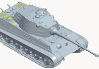 1/35 German Heavy Tank Sd.Kfz.182 King Tiger (Henschel Turret)