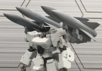 Frame Arms Hawk-Mounted Surface-to-Air Missile Type