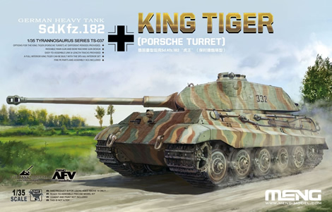 1/35 German Heavy Tank Sd.Kfz.182 King Tiger (Porsche Turret) (Limited Edition)