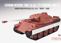 1/35 German Medium Tank Sd.Kfz.171 Panther Ausf.D