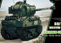World War Toons British Medium Tank Sherman-Firefly