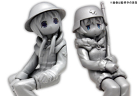 1/35 Girls Last Tour: Kettenkrad w/Chito and Yuuri 2-Figure Set