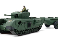 1/48 MM British Churchill Mk.VII Crocodile