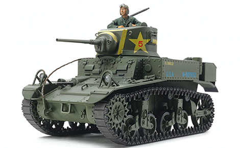 1/35 US Light Tank M3 Stuart Late Production