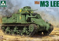 1/35 US M3 Lee Medium Tank (Mid)