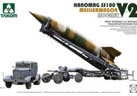 1/72 WW.II German V-2 Rocket, Meillerwagon, Hanomag SS100