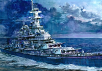 1/350 U.S. Navy Battleship Missouri (BB-63)