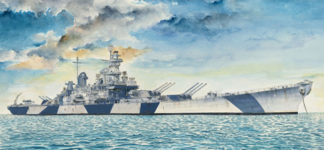 1/350 U.S. Navy Battleship IOWA (BB-61)