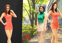 1/24 Fashion Model & Companion Girl Figures