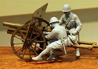 1/35 帝国陸軍 四一式山砲「山砲兵」