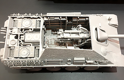 Takom: 1/35 Jagdpanther G1 Early Production w/Zimmerit & Full Interior