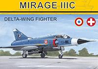 1/144 ミラージュIIIC デルタ翼戦闘機