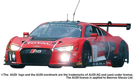 1/24 レーシングシリーズ アウディ R8 LMS GT3