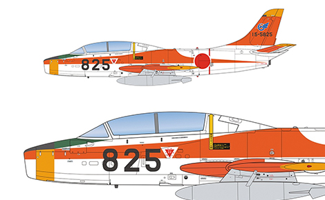 1/72 航空自衛隊 T-1A ジェット練習機
