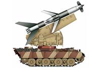 1/35 ドイツ 地対空ミサイル ライントホター R1自走対空ミサイル (パンターII車体)