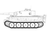 1/35 ドイツ ティーガーI 重戦車 初期型 ツィタデレ作戦