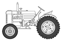1/35 米軍 トラクター