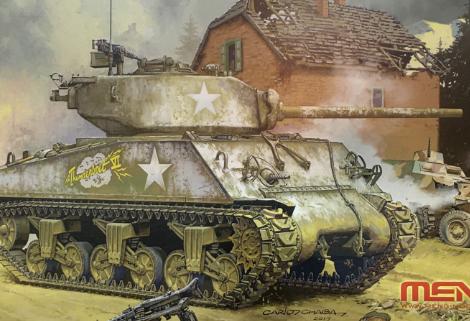 1/35 U.S. Medium Tank M4A3 [76] W