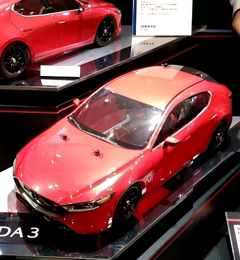 1/10 RC MAZDA3 (TT-02 CHASSIS)