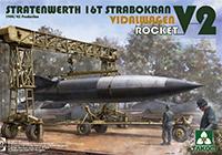 1/35 シュトラーテンヴェルト 16t ガントリークレーンw/フィダルワーゲン&V2ロケット 1944年生産
