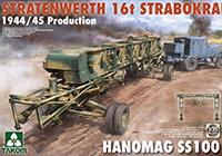 1/35 シュトラーテンヴェルト 16tガントリークレーンw/ハノマーグSS100 トラクター 1944