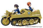 Girls und Panzer der Film: Miho and Yukari Kettenkrad Oarai Girls High School Ver.
