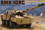 1/35 French AMX-10RC Tank Destroyer Gulf War 1991