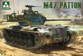 1/35 US Medium Tank M47 Patton