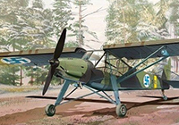 1/72 FI 156C Storch Foreign Service