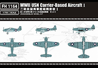 1/700 WW.II USN Carrier-Based Aircraft I (18pcs)