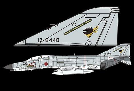 1/72 JASDF F-4EJ Kai Fighter-bomber
