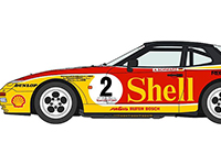 1/24 Shell Porsche 944 Turbo Racing