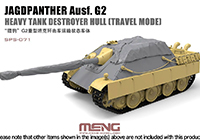 1/35 Jagdpanther AUSF. G2 Heavy Tank Destroyer Hull (Travel Mode)