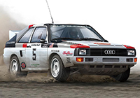 1/24 Racing Series Audi S1 '86 Olympus Rally