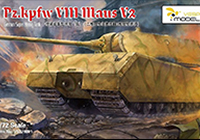 1/72 German Pz.Kpfw. VIII Maus V2 Super Heavy Tank