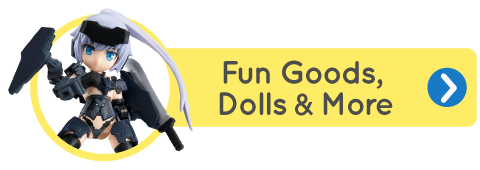 Fun Goods, Dolls, and More