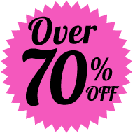 Over 70% Off