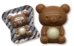 Rilakkuma Mini Caramel Flavored Chocolate