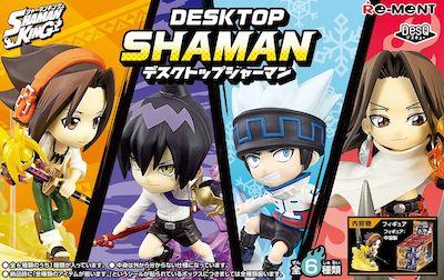 Shaman King: DesQ Desktop Shaman 1Box 6pcs