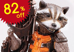 Guardians of the Galaxy: Rocket Raccoon (Pre-Painted Kit)