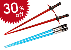 Lightsaber Chopsticks Kylo Ren & Rey