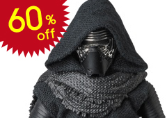 MAFEX Kylo Ren (Star Wars: The Force Awakens)
