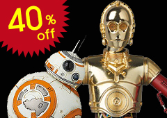 MAFEX C-3PO & BB-8 (Star Wars: The Force Awakens)